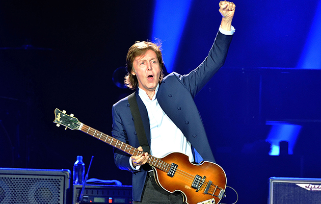Paul McCartney releases 360 degree photo of tour