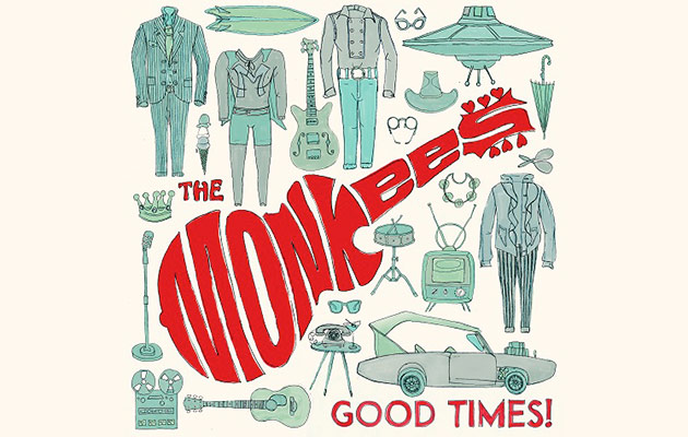 "Hear The Monkees' new single, ""She Makes Me Laugh"""
