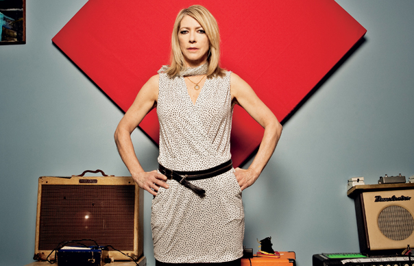 "Hear new Kim Gordon track, ""Murdered Out"""