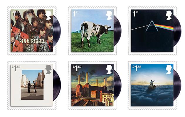 Pink Floyd postage stamps revealed!