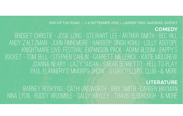 The End Of The Road: more line-up additions announced