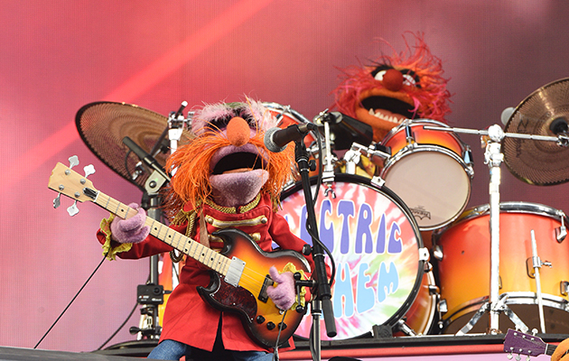 Watch Muppet band Dr. Teeth & the Electric Mayhem perform live for the first time