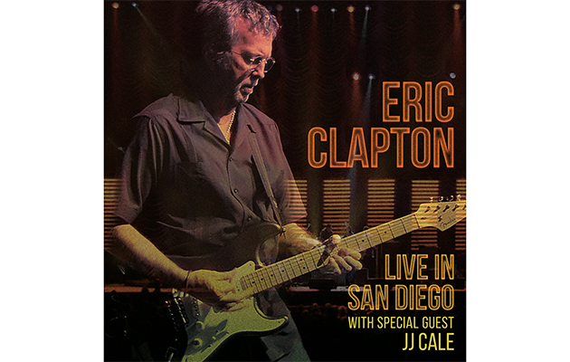 Eric Clapton announces new live album
