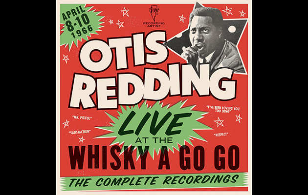 Otis Redding's Live At The Whisky A Go Go box set announced