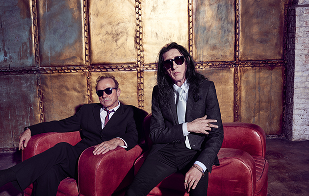 Watch John Cooper Clarke and Hugh Cornwell discuss their new album, This Time It's Personal