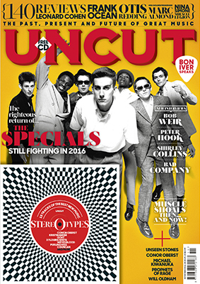Introducing the new issue of Uncut…