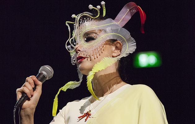 Björk live at the Royal Albert Hall, London, September 21, 2016