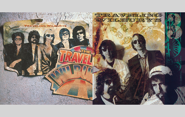 The Traveling Wilburys Vol. 1 and Vol. 3 for Record Store Day Vinyl Tuesday reissue
