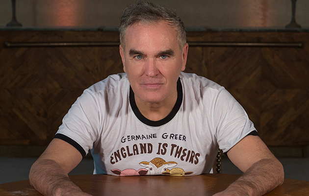 Morrissey unveils new album, I Am Not A Dog On A Chain