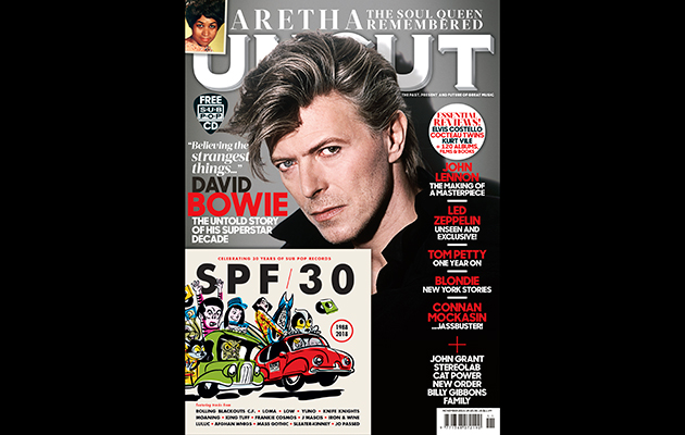Get a free, 15-track Sub Pop CD with this month's issue of Uncut!