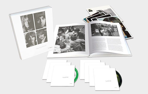 The Beatles' White Album anniversary editions unveiled