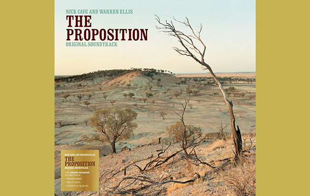 The Proposition soundtrack released on vinyl for the first time