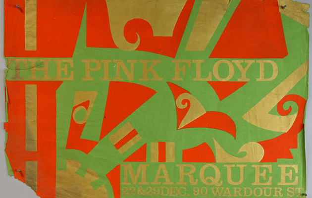 Rare Pink Floyd posters up for auction