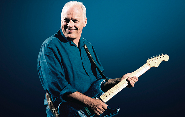 David Gilmour's Pink Floyd guitars break auction records