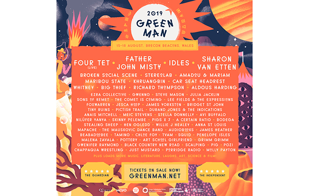 Green Man festival reveals first names for 2019