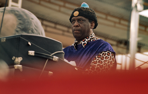 "Sun Ra: ""There's a lot of strange stuff that goes on around the pyramids – why don't you bring a tape?"""
