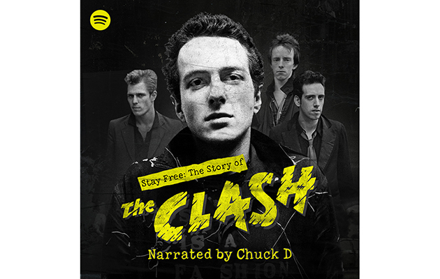 Listen to a new podcast about The Clash, narrated by Chuck D