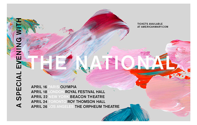 The National announce Royal Festival Hall show