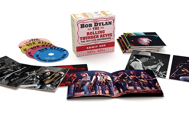 Bob Dylan reveals Rolling Thunder boxset details