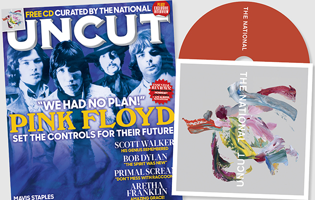 Exclusive CD curated by The National free with the latest issue of Uncut