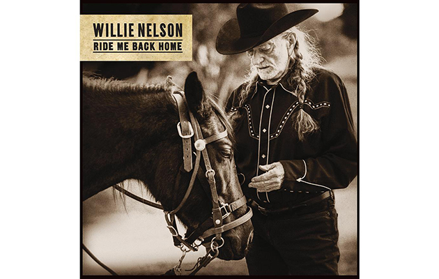 Hear the title track of Willie Nelson's new album, Ride Me Back Home
