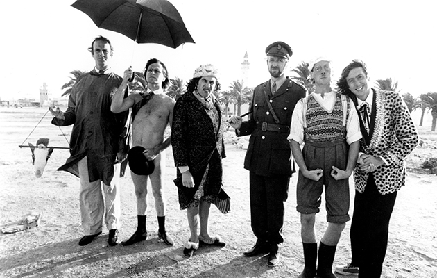 Monty Python outline 50th anniversary plans