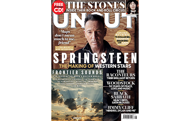 Bruce Springsteen, The Rolling Stones, The Raconteurs, Woodstock and more star in the new Uncut