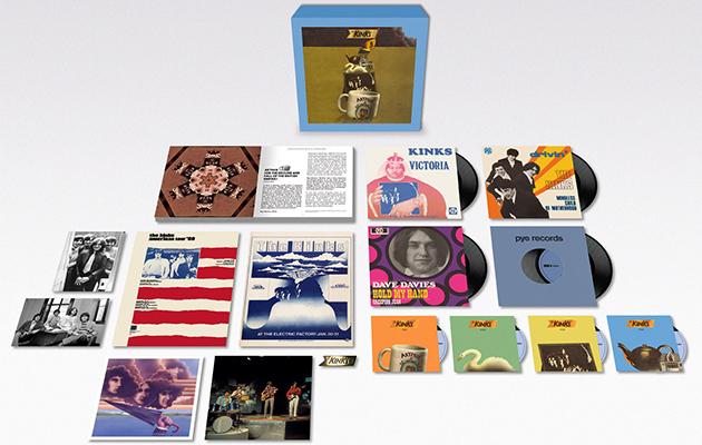 The Kinks unveil Arthur 50th anniversary box set