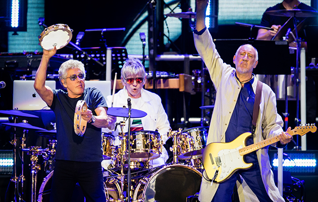Watch The Who debut new songs at Wembley