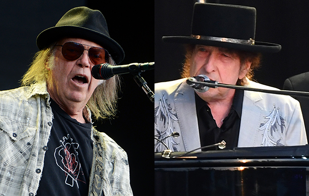 Watch Bob Dylan duet with Neil Young in Kilkenny