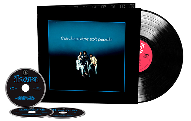 The Doors' The Soft Parade reissued with stripped-down versions