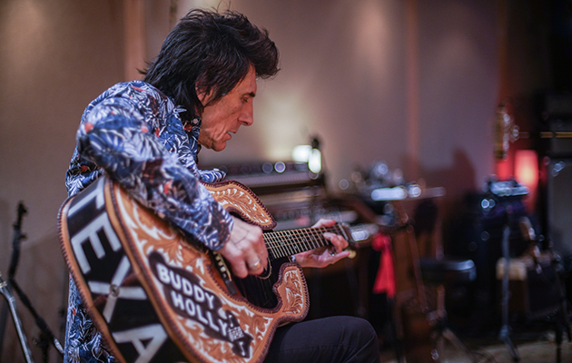 Ronnie Wood announces new documentary, Somebody Up There Likes Me