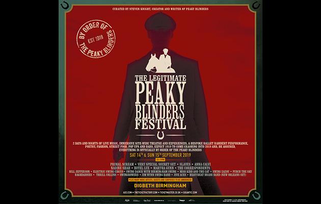 Primal Scream to headline Peaky Blinders festival in Birmingham