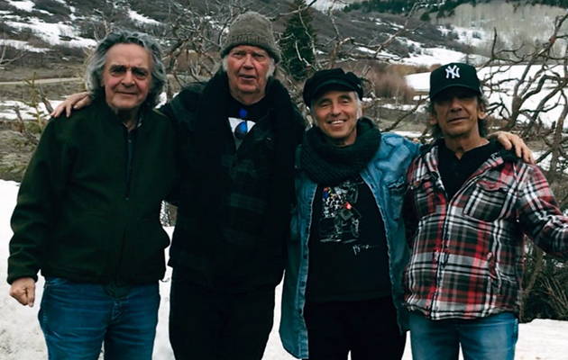 """Hear Neil Young & Crazy Horse's new single, """"Rainbow Of Colors"""""""