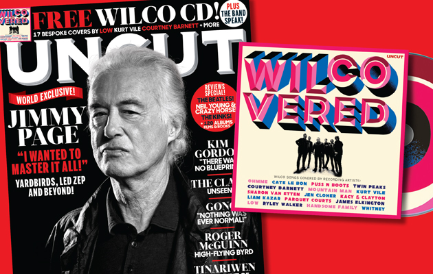 Introducing the new Uncut… a Jimmy Page world exclusive and a free 17-track Wilco CD!