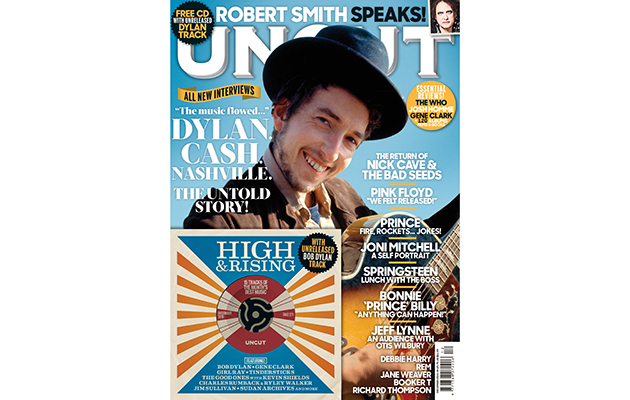 Bob Dylan is on the cover of the new Uncut – with an exclusive unreleased Dylan track on our free CD
