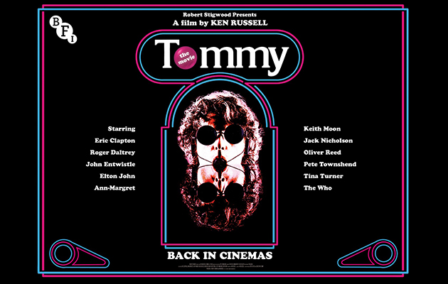 The Who's film Tommy is being reissued – here's an exclusive look at the mind-boggling new trailer…