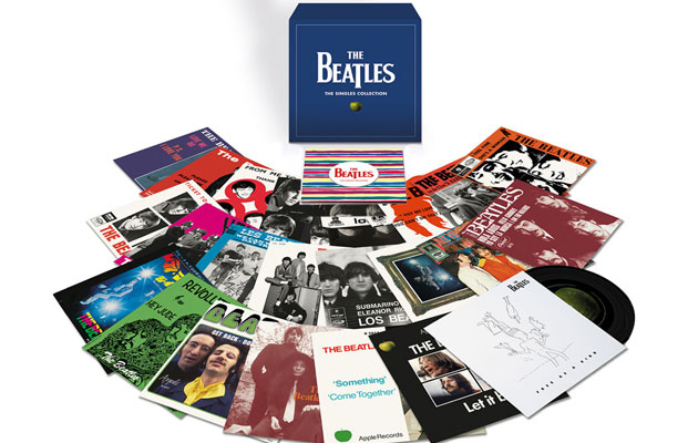 The Beatles' singles compiled on 7″ box set