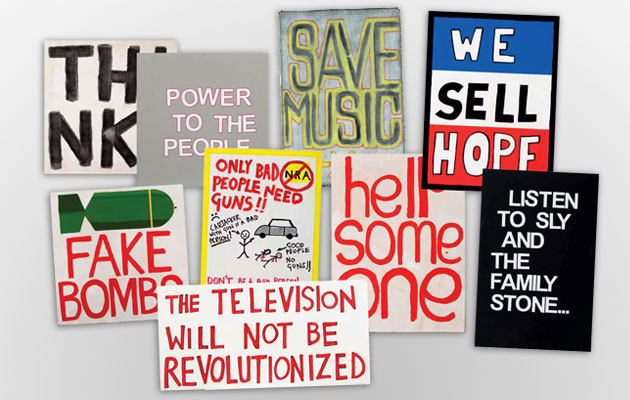 The Specials to auction stage placards for charity