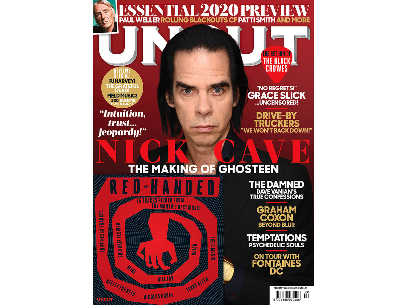 Nick Cave, Massive 2020 Preview, Grace Slick, Fontaines D.C. and more in the new Uncut - UNCUT