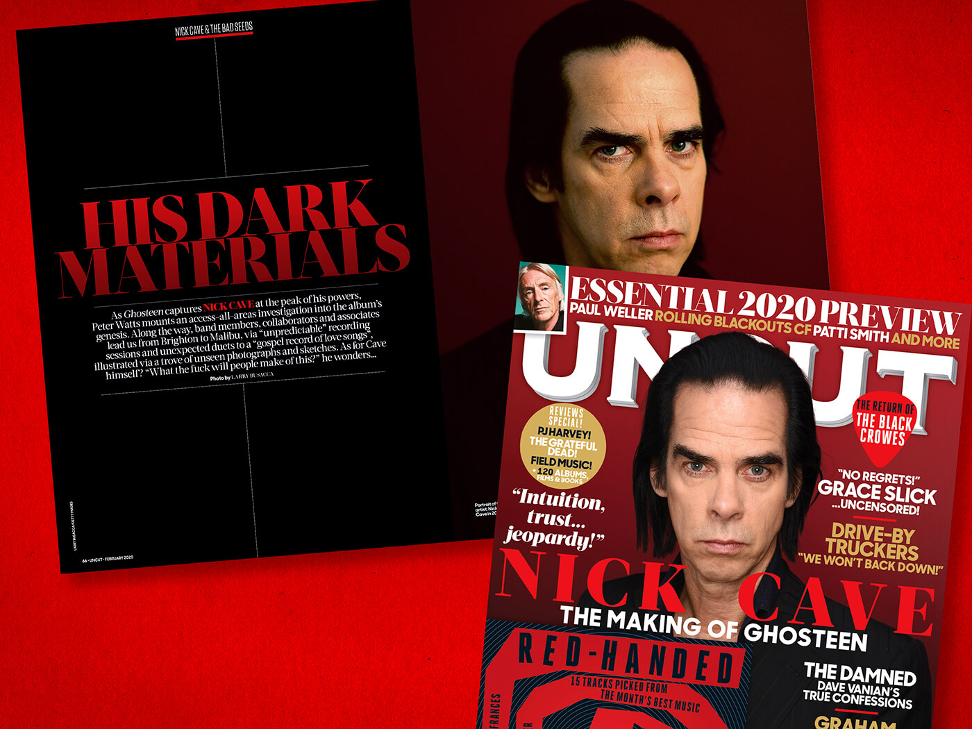 Nick Cave: the mysteries of Ghosteen revealed in the new Uncut!