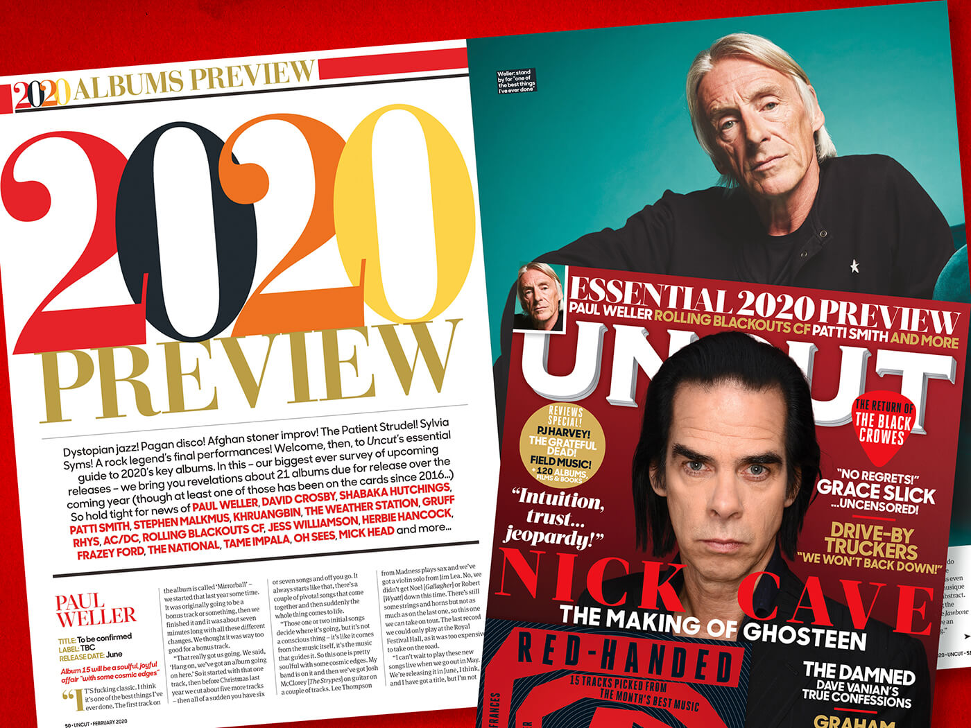Read more about Uncut's essential 2020 preview!