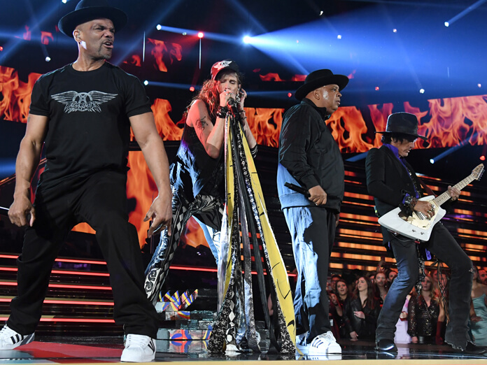 Watch Aerosmith reunite with Run-DMC at the Grammys - UNCUT