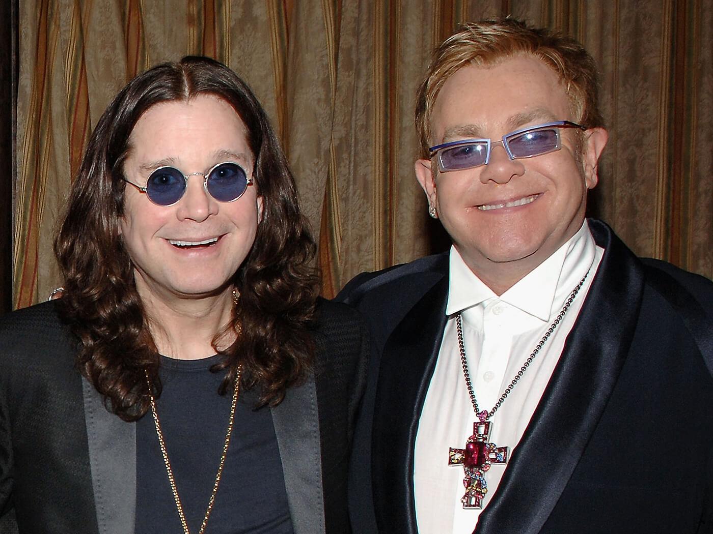 Hear Ozzy Osbourne duet with Elton John - UNCUT