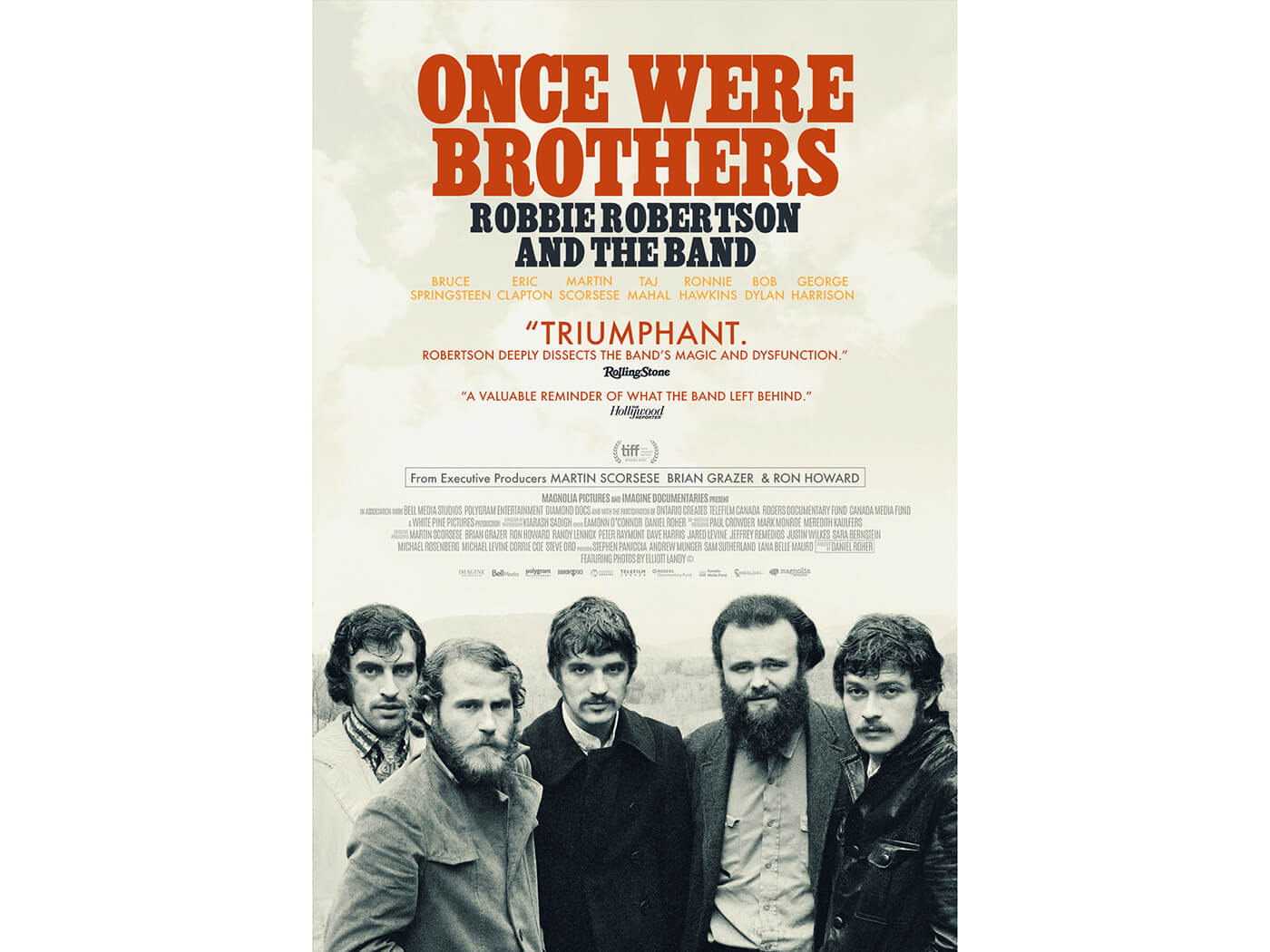 Watch a trailer for The Band documentary, Once Were Brothers - UNCUT