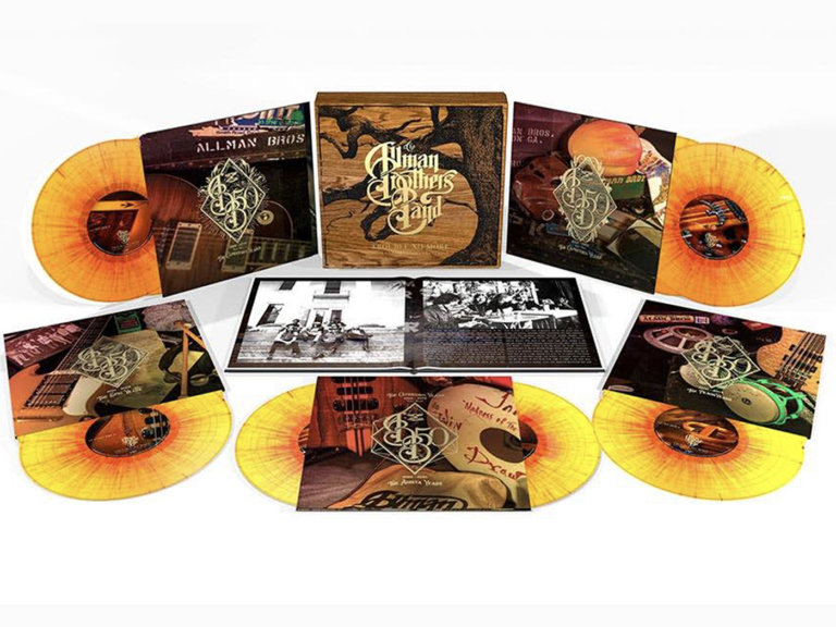 The Allman Brothers Band's 50th anniversary marked with 10xLP set