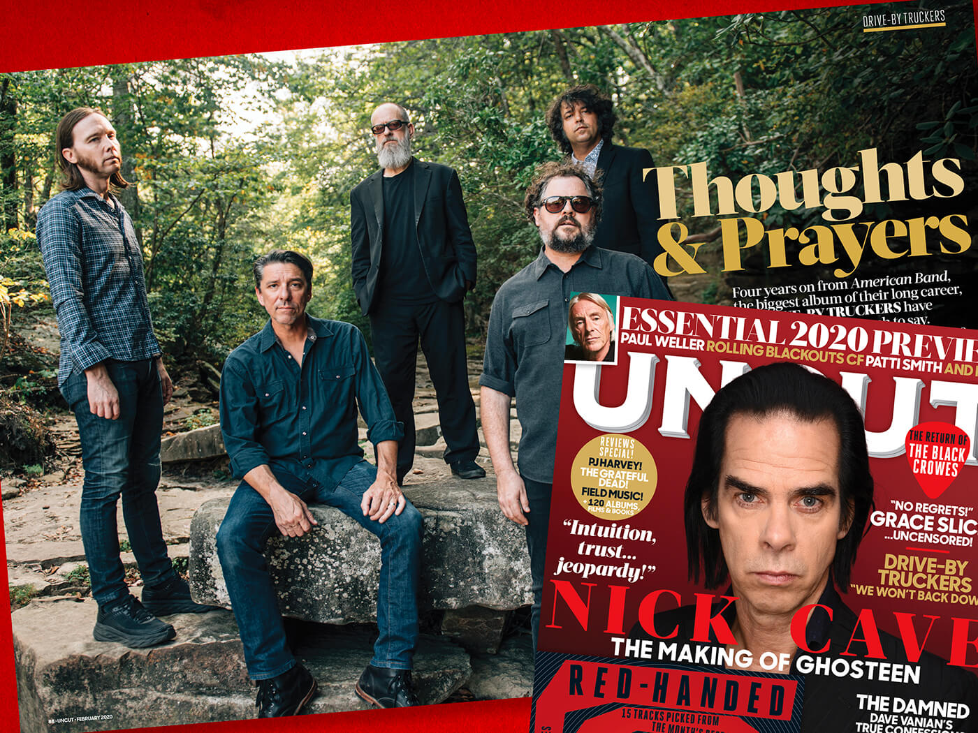 """Drive-By Truckers: """"Now was not the time to retreat"""" - UNCUT"""