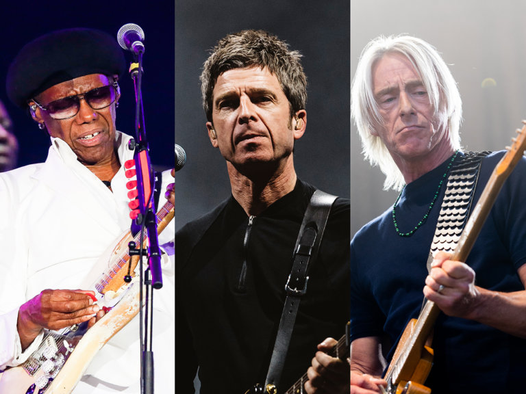 Paul Weller, Noel Gallagher and Chic for Teenage Cancer Trust shows