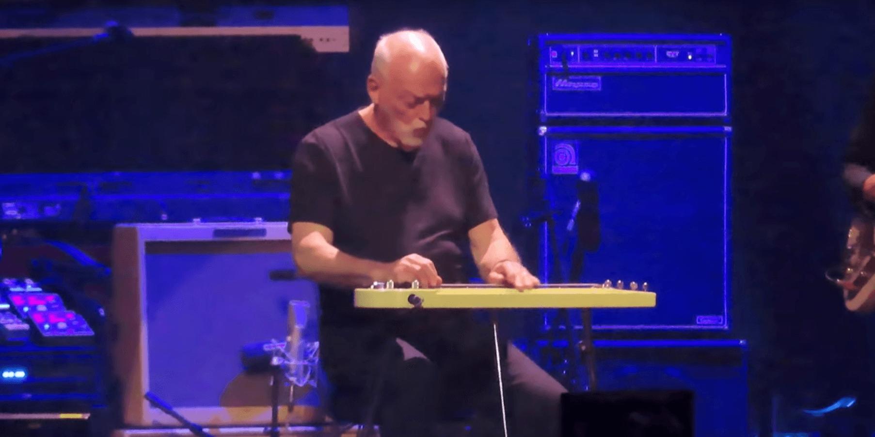 "Watch David Gilmour play Fleetwood Mac's ""Albatross"""