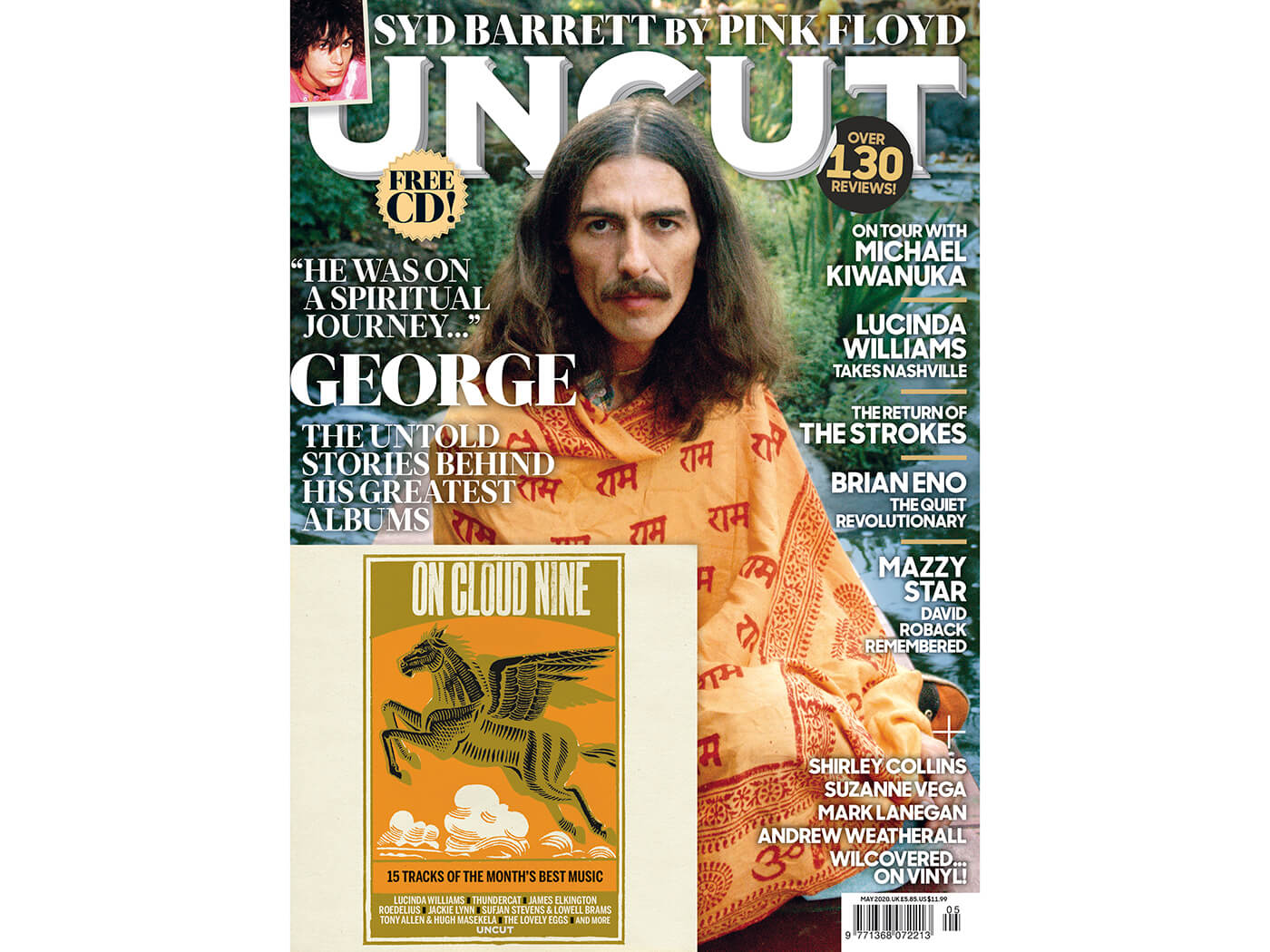 Introducing the new Uncut: George Harrison, Lucinda Williams, Syd Barrett and more